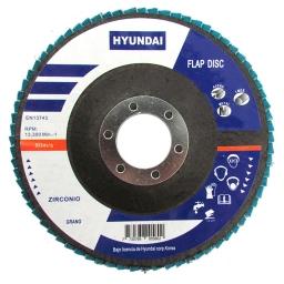 Disco Flap Ox.Zirconio 115x22.2 Gr.120 (5 unidades)