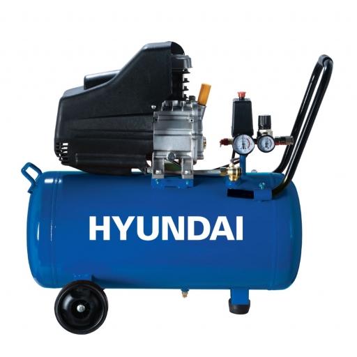 Motocompresor 50 litros kit 2 HP HYAC50DE